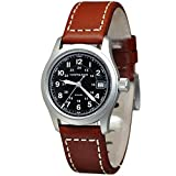 Hamilton Reloj Analogico para Mujer de Cuarzo con Correa en Cuero H68311533
