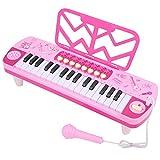【𝐎𝐟𝐞𝐫𝐭𝐚𝐬 𝐝𝐞 𝐁𝐥𝐚𝐜𝐤 𝐅𝐫𝐢𝐝𝐚𝒚】Teclado digital Piano eléctrico Piano eléctrico con micrófono Exquisito 32 teclas de piano para niños