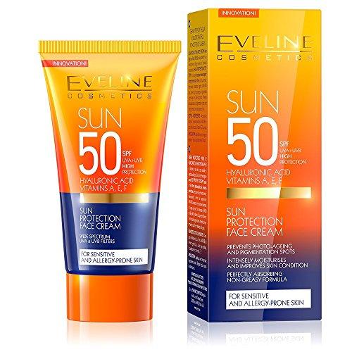 Eveline solarium visage SPF-50 50 ml