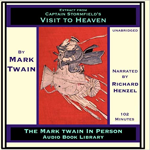 Extract from Captain Stormfield's Visit to Heaven audiobook cover art