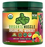 Organic Muscle #1 Rated Organic Pre Workout...