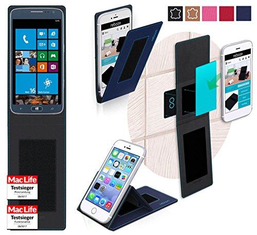 Hülle für Samsung ATIV S Neo Tasche Cover Hülle Bumper | Blau | Testsieger
