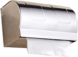 Badkamer roestvrijstalen punch-free papieren handdoekhouder toiletpapier doos badkamer wandgemonteerde rolhouder hotelbadk...