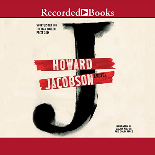 J audiobook cover art
