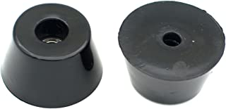 Round Rubber Feet with Steel Washer Built-in Pack of 10 (D40x30xH22mm)