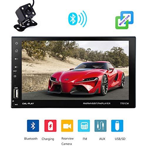 GOFORJUMP 2 Din General Car Modèles 7 '' inch LCD Ecran Tactile Plein Car Radio Player Bluetooth Car Audio Support Vue Arrière Caméra Lien Lien