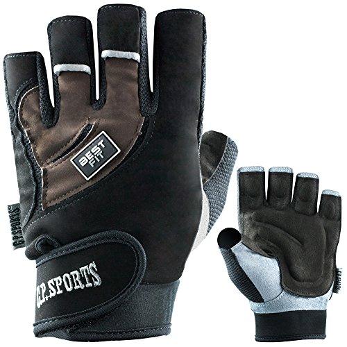 C.P. Sports Fitness Handschuhe Herren oder Damen, Bodybuilding, Kraftsport, Sport Handschuhe, Gym Handschuhe, Best Fitness Handschuh