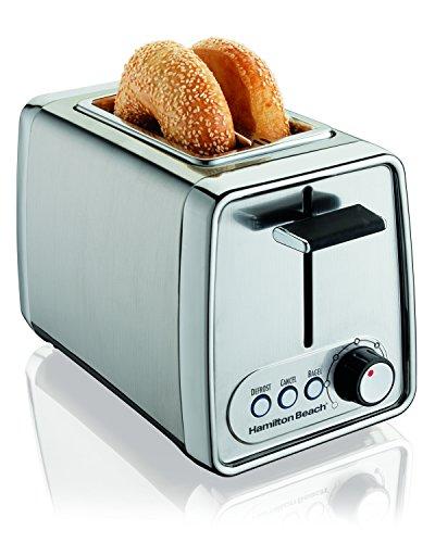 Hamilton Beach 22791 Digital Modern Chrome 2 Slice Toaster