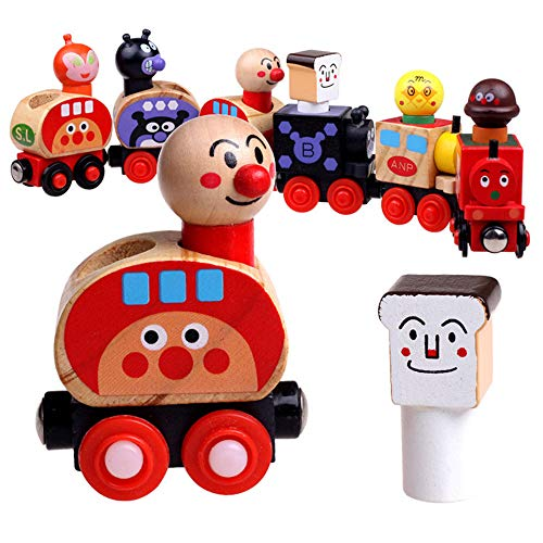 Find Discount Zxcvlina Boys and Girls Run Logic Game and Toy Section 6 Magnetic Bread Small Train Fa...