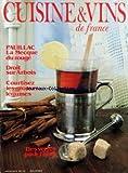 CUISINE ET VINS DE FRANCE [No 393] du 01/01/1984 - PAUILLAC - LA MECQUE DU ROUGE - DROIT SUR ARBOIS - COURTISEZ LES GROSSES LEGUMES - DES VERRES POUR L'HIVER - RECEVOIR - BERNARD LOISEAU - LES SURGELES - LA POCHOUSE PAR NED RIVAL