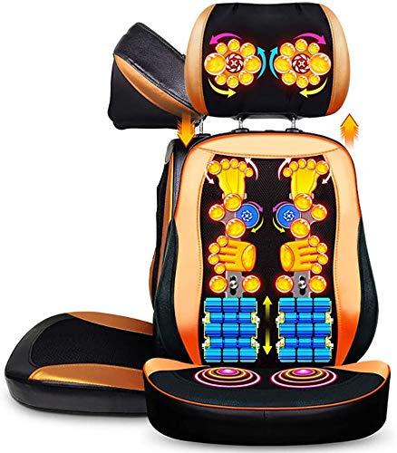 Shiatsu masaje de espalda, masaje de la silla cojín profundo de amasamiento por completo el dolor de espalda Alivio de masaje masajeador cojín del asiento para el uso de Ministerio del Interior