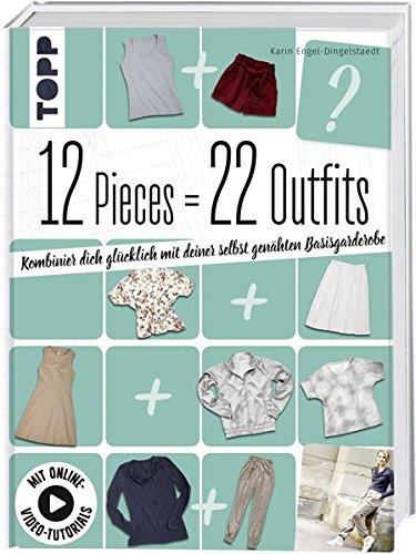12 Pieces = 22 Outfits: Kombinier dich glücklich mit deiner selbstgenähten Basisgarderobe