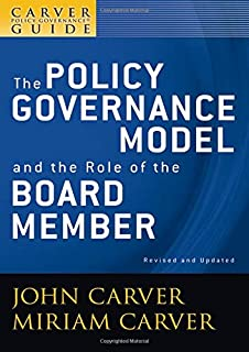 governance policies for nonprofit organizations