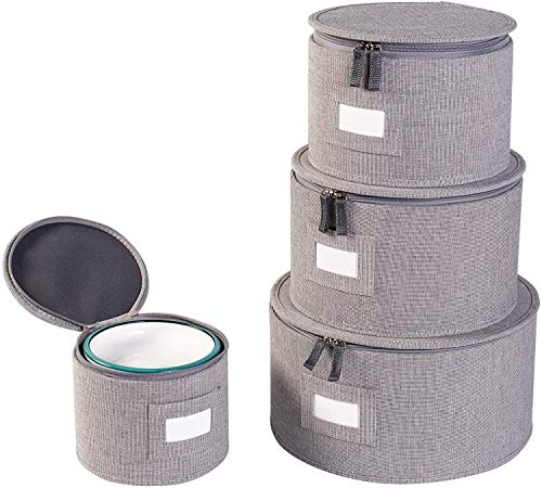 China Storage Container Set Protects dishes and Plates storage Hard Shell and Stackablefor Dinnerware Storage and Transport  iNDi&iNWEChina Storage set