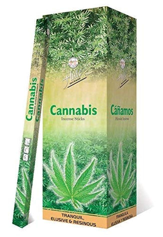インポート前提条件放送Incense SticksフルートCannabis Agarbatti 200?Sticks Squareパケット