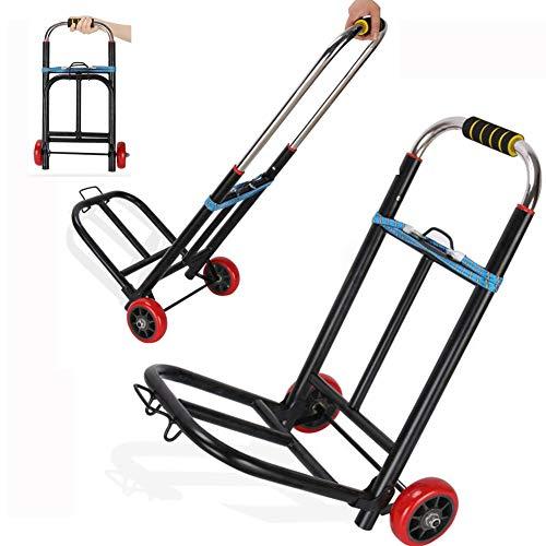 Learn More About Portable Folding Luggage Cart Telescopic Trolley Heavy-Duty Folding Trolley Trolley...