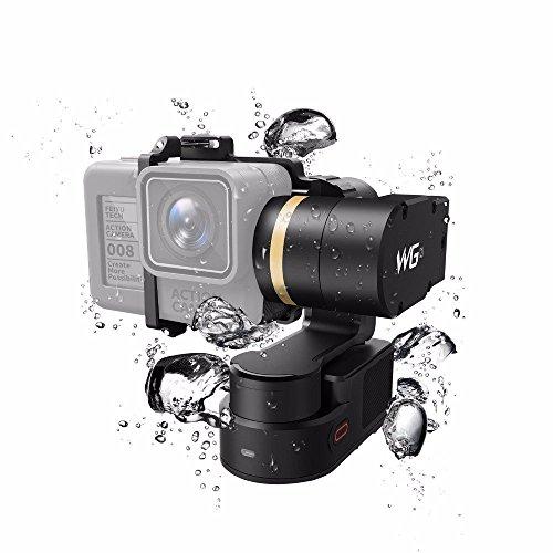 Feiyu WG2 aggiornato 3-axis indossabile impermeabile giunto cardanico per GoPro HERO5/GoPro Hero4/sessione e fotocamere