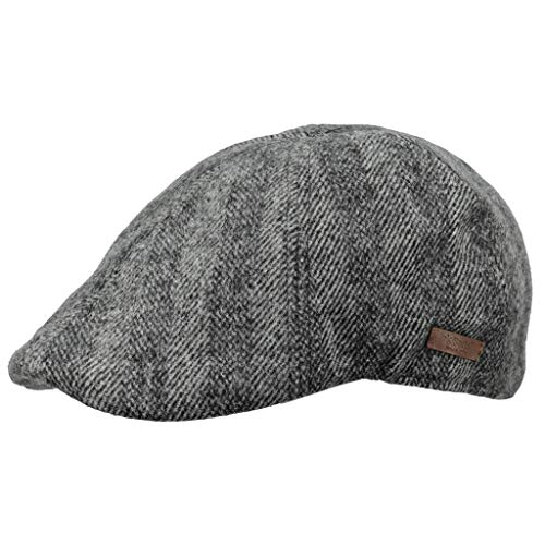 Barts Herren Mr. Mitchell Cap Baskenmütze, Grau (Dark Heather 0019), Medium