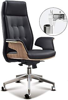 Sillas de escritorio Muebles Silla de Oficina con Respaldo Alto Negro Ordenador Silla Juego 360 ° de rotación y elevación ergonómicos reclinables (Color : B, Size : 75 * 75 * 120-128cm)