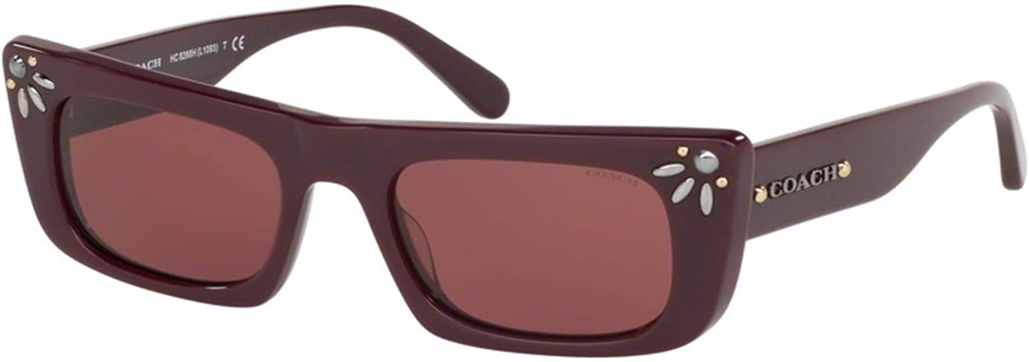 Sunglasses Coach High order HC OFFicial mail order 8268 547975 Oxblood H