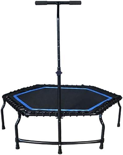 edición limitada Cheng-Trampolines Trampoline Adult Home Gym en el Interior dedicado para para para Adelgazar la Cama de Salto (negro azul)  más orden
