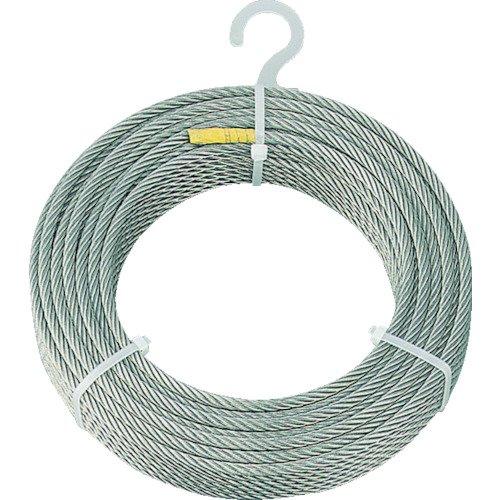TRUSCO(トラスコ) ステンレスワイヤロープ Φ6.0mm×200m CWS-6S200