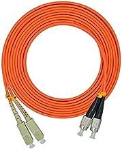 LC/SC/FC/ST 62.5/125 Duplex Multimode 3.0mm Fiber Optic Patch Cable (15m, SC-FC)