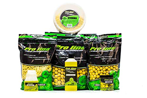 PRO LINE Readymades Boilies - Juicy Pineapple 20 mm - 1 kg
