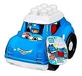 Mega Bloks Coche de Policia, juguete de construcción para niños + 1 año (Mattel GCX08)