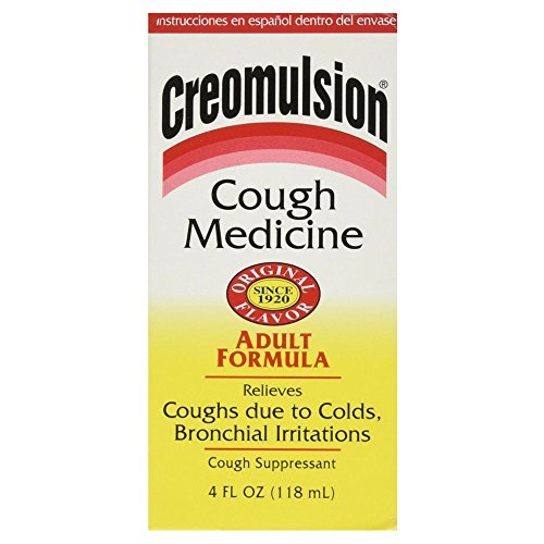 Creomulsion Adult Cough Medicine, 4 Ounce by Creomulsion