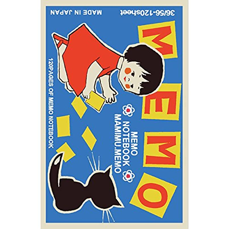 中断政治家の物語春光園 メモ帳 MAMIMU.MEMO ヨーロピアンビンテージ SMN-0180-052