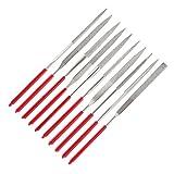 iTimo DIYWORK MTS013 - Juego de 10 limas de agujas de...