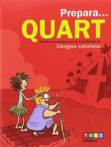 Prepara... Quart. Llengua catalana (Quaderns estiu) - 9788441230163