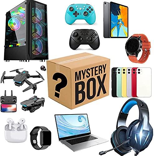 Qasole Caja de Misterio Electrón, Caja de Suerte Estilo Aleatorio, súper costefectiva, dése una Sorpresa, o como un Regalo para los demás, ¡Todo es Posible!