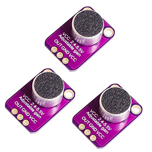 3xBreakout Modul Elektrische Mikrofonverstärker MAX4466 Sensor Für Arduino
