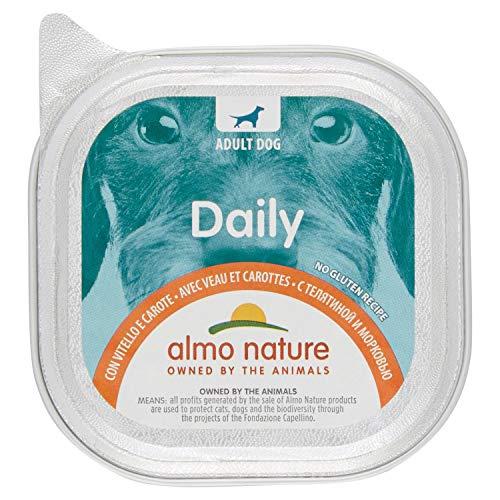 almo nature Daily Menu per Cane con Vitello, 100g