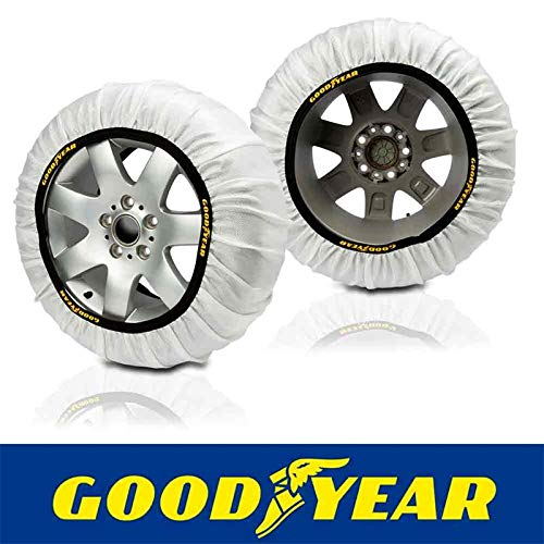 Goodyear GOD8020 Cadenas Snow & Road, Set de 2, Talla L