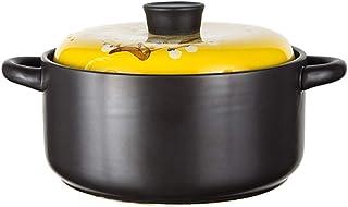SHYOD Cazuela de arroz de cerámica arroz de Gas doméstico Guangdong Antigua Olla pequeña Sopa Antiadherente Sopa de Fideos de arroz de Doble Oreja