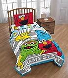 Sesame Street Elmo, Big Bird, Full Comforter, Sheets, Sham + Backpack (6 Piece Bed in A Bag)