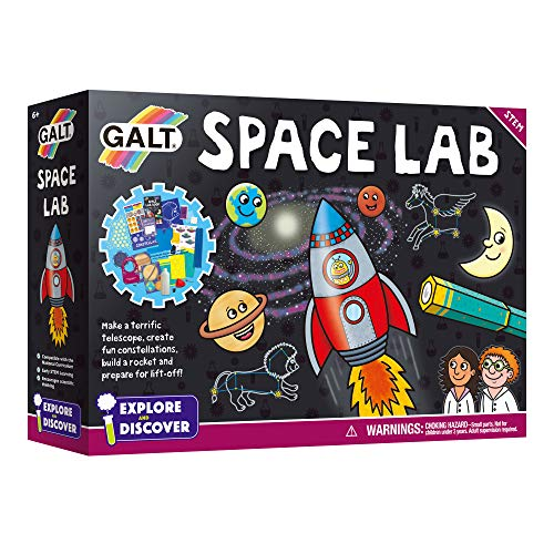 Galt Toys- Space Lab Laboratorio Espacial, Multicolor (James Galt & Company Ltd 1005113)