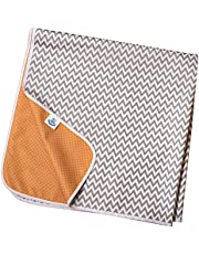 TotsAhoy!® Antislip spat mat / splash mat van Grote vloerbeschermer voor onder de kinderstoel
