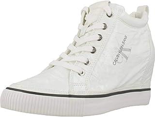 Calvin Klein Ritz, Women's Fashion Sneakers, White, 41 EU