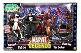 ToyBiz Anno 2003 Marvel Legend Series 4 Pack 16 pollici alto Action Figure Set – leggende urbane con DAREDEVIL, ELEKTRA, The PunISHER e Spider Man figure più 4 stand e poster speciale
