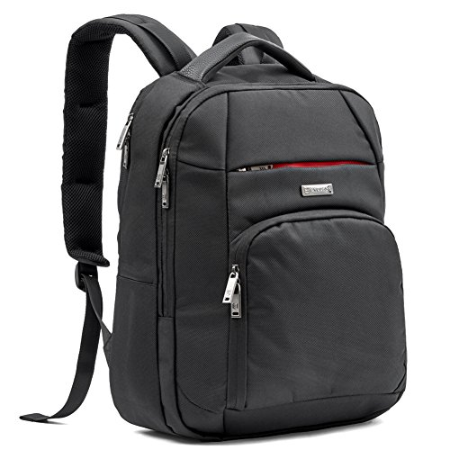 "15.6"" Laptop Zaino Professionale, Evecase Unisex Professionale Leggero Backpack fino a 15.6 pollici per Laptop / Notebook / MacBook / MacBook Pro / Chromebook - Nero"