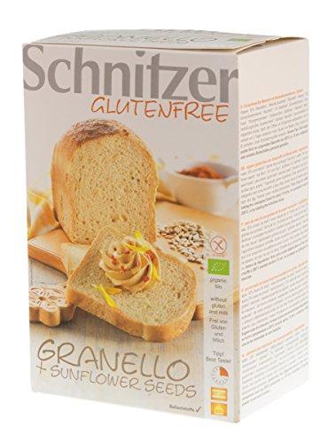Schnitzer Pan Molde Semillas Girasol S/G Schnitzer 500 G - 100 g
