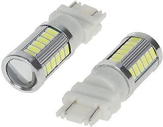 BEESCLOVER LED 1156 1157 5730 5630 33SMD Car Tail Bulb Brake Lights Auto Reverse Lamp Daytime Running Light 3157-white Light