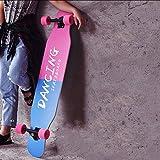Tabla De Skate Completa De 42 Pulgadas, Patinetas Skate 4 Ruedas, 8 Capas De Madera De Arce, Trucos para Adultos, Tabla De Skate para Principiantes, Regalo De Cumpleaños para Niños Adultos