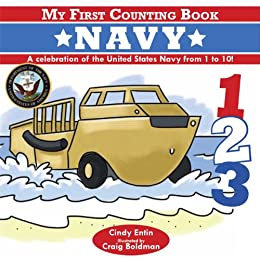 My First Counting Book: Navy by [Cindy Entin]