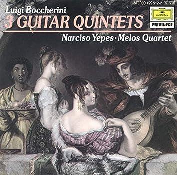 Boccherini: 3 Guitar Quintets