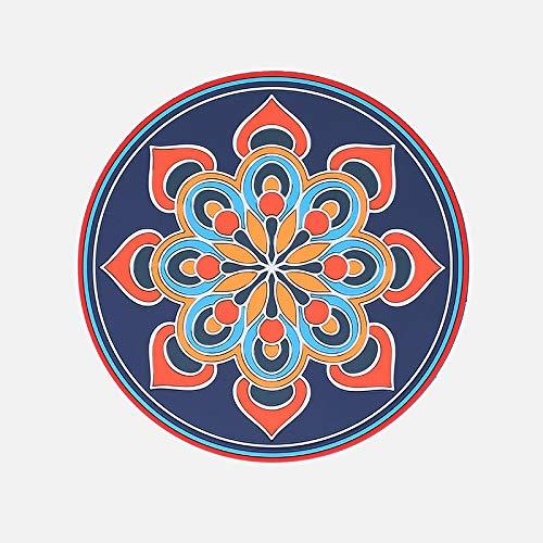 ABCABC Silicona Antideslizante Cocina alfombras de alfombras de calefacción de calefacción Mesa de Aislamiento de Calor para Estera de Mesa a Prueba de Agua a Prueba de Agua Placemat